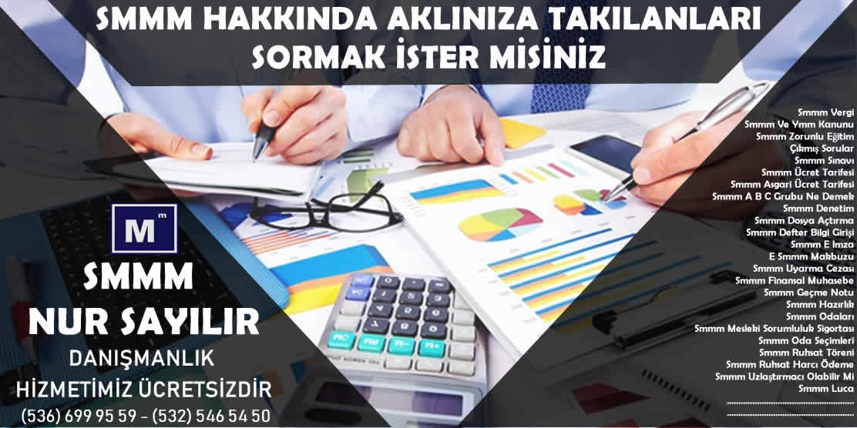 Adana Smmm Odasi 2019 Ücret Tarifesi