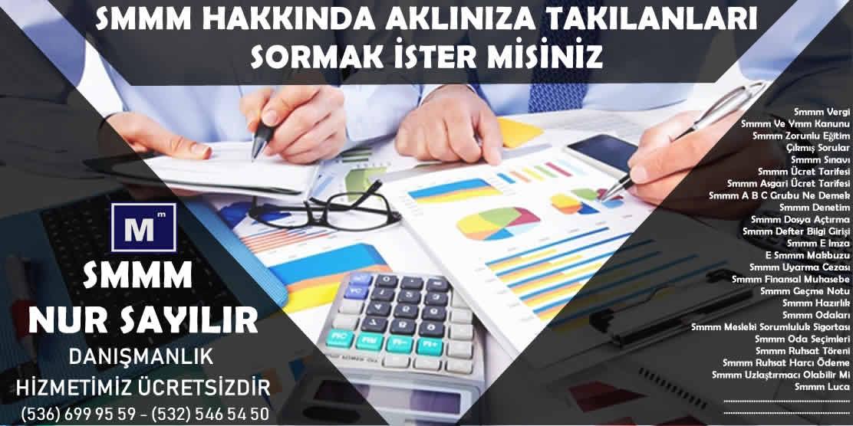 Adana Smmm Ücret Tarifesi 2018